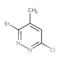 3-bromo-6-chloro-4-methylpyridazine