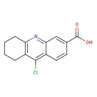 9-Chloro-5,6,7,8-tetrahydroacridine-3-carboxylic acid