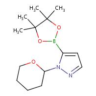 1-(oxan-2-yl)-5-(tetramethyl-1,3,2-dioxaborolan-2-yl)-1H-pyrazole