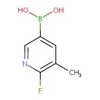 (6-Fluoro-5-methylpyridin-3-yl)boronic acid