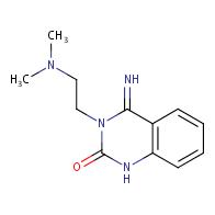 3-[2-(dimethylamino)ethyl]-4-imino-1,2,3,4-tetrahydroquinazolin-2-one