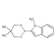 2-(5,5-Dimethyl-1,3,2-dioxaborinan-2-yl)-1-methyl-1H-indole