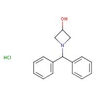 1-(diphenylmethyl)azetidin-3-ol hydrochloride