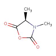 (4R)-3,4-dimethyl-1,3-oxazolidine-2,5-dione