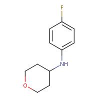 N-(4-fluorophenyl)tetrahydro-2H-pyran-4-amine