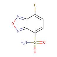 7-fluorobenzo[c][1,2,5]oxadiazole-4-sulfonamide