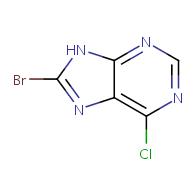 8-bromo-6-chloro-9H-purine