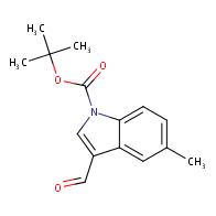tert-Butyl 3-formyl-5-methyl-1H-indole-1-carboxylate