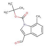 tert-Butyl 3-formyl-7-methyl-1H-indole-1-carboxylate