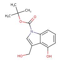 tert-Butyl 4-hydroxy-3-(hydroxymethyl)-1H-indole-1-carboxylate