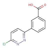 3-(6-Chloropyridazin-3-yl)benzoic acid