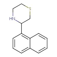 3-(naphthalen-1-yl)thiomorpholine