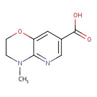 4-Methyl-3,4-dihydro-2H-pyrido[3,2-b][1,4]oxazine-7-carboxylic acid