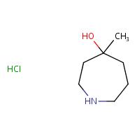 4-methylazepan-4-ol hydrochloride