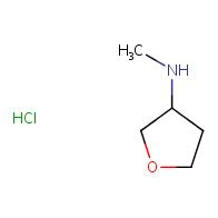 N-methyloxolan-3-amine hydrochloride