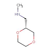 {[(2R)-1,4-dioxan-2-yl]methyl}(methyl)amine