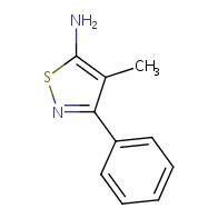 4-methyl-3-phenylisothiazol-5-amine