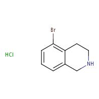 5-bromo-1,2,3,4-tetrahydroisoquinoline hydrochloride