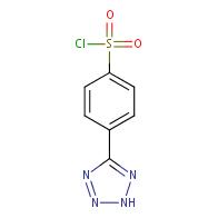 4-(2h-tetrazol-5-yl)benzenesulfonyl chloride