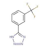 5-[3-(Trifluoromethyl)phenyl]-2H-1,2,3,4-tetraazole