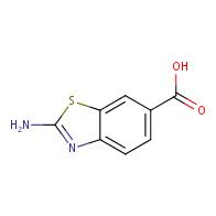 2-amino-1,3-benzothiazole-6-carboxylic acid