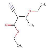 ethyl (E)-2-cyano-3-ethoxybut-2-enoate