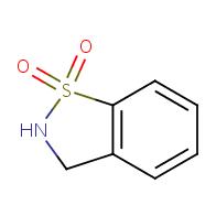 1,2-Benzisothiazole, 2,3-dihydro-, 1,1-dioxide