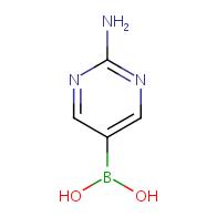 (2-aminopyrimidin-5-yl)boronic acid