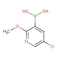 5-chloro-2-methoxypyridin-3-yl-3-boronic acid