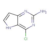 4-chloro-5H-pyrrolo[3,2-d]pyrimidin-2-amine