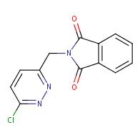 2-((6-Chloropyridazin-3-yl)methyl)isoindoline-1,3-dione