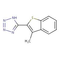 5-(3-methylbenzo[b]thiophen-2-yl)-1H-tetrazole