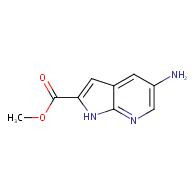 methyl 5-amino-1H-pyrrolo[2,3-b]pyridine-2-carboxylate