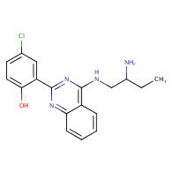 2-[4-(2-Amino-butylamino)- quinazolin-2-yl]-4-chloro-phenol