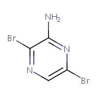 3,6-dibromopyrazin-2-amine