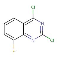 2,4-dichloro-8-fluoroquinazoline