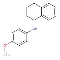 N-(4-methoxyphenyl)-1,2,3,4-tetrahydronaphthalen-1-amine