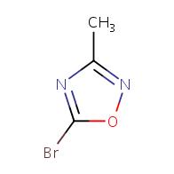 5-bromo-3-methyl-1,2,4-oxadiazole