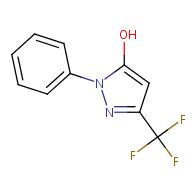 1H-Pyrazol-5-ol,1-phenyl-3-(trifluoromethyl)-