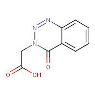 (4-Oxo-1,2,3-benzotriazin-3(4H)-yl)acetic acid