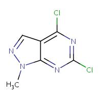 4,6-dichloro-1-methyl-1H-pyrazolo[3,4-d]pyrimidine