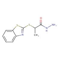 2-(1,3-benzothiazol-2-ylthio)propanohydrazide