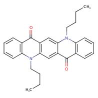 5,12-dibutyl-5,12-dihydroquinolino[2,3-b]acridine-7,14-dione