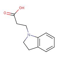 3-(Indolin-1-yl)propanoic acid